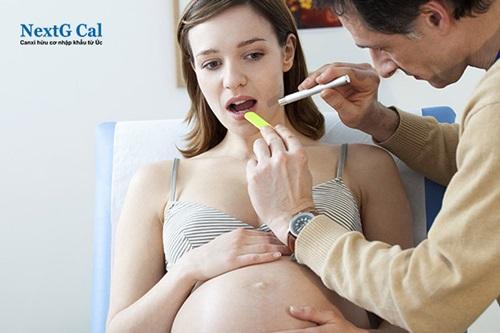 Bị viêm lợi khi mang thai