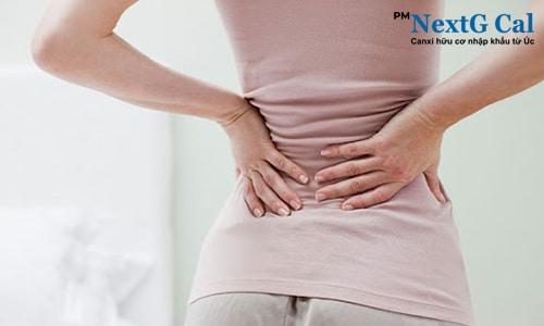 phụ nữ có thai bị đau hông