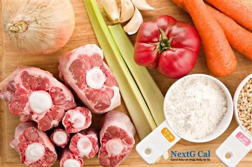 thức ăn cho trẻ còi xương suy dinh dưỡng