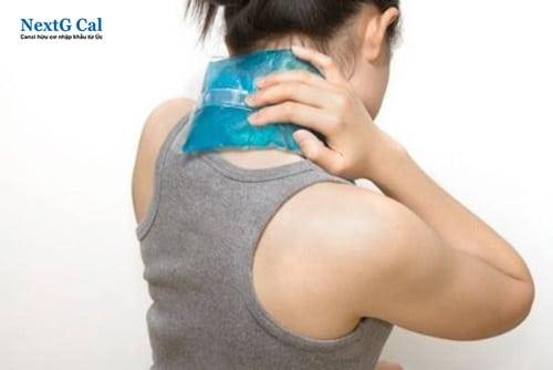 Cách trị đau cổ khi ngủ dậy