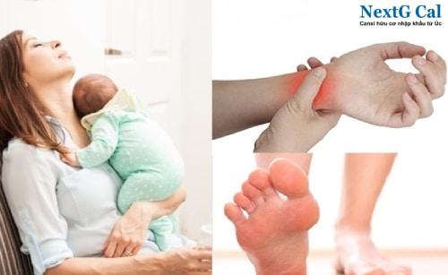 Cách trị đau khớp cổ tay sau khi sinh