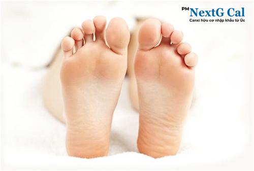 Đau nhức chân khi mới mang thai
