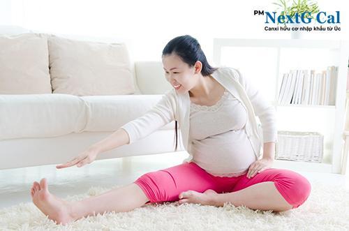 Mỏi chân khi mang thai tháng đầu