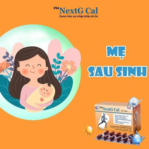 Thực phẩm nhiều canxi cho mẹ sau sinh