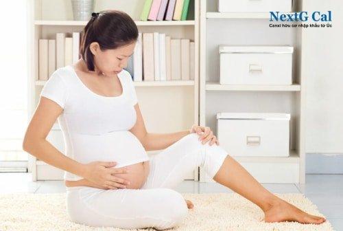 Bị chuột rút khi mang thai là như thế nào