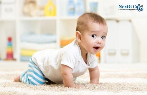 bổ sung canxi cho bé 6 tháng tuổi