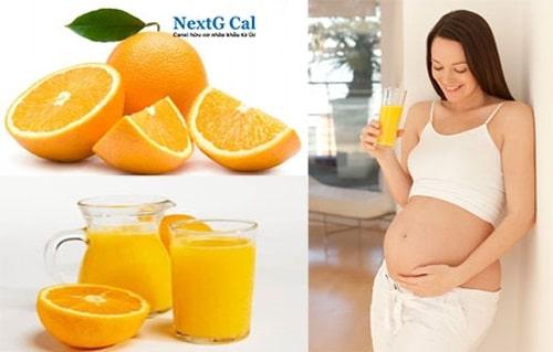 Các loại sinh tố tốt cho bà bầu 3 tháng đầu