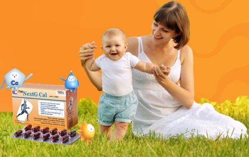 Các loại thuốc canxi cho trẻ sơ sinh