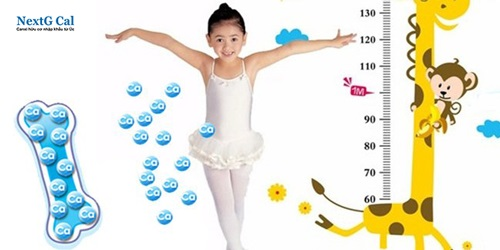 Cách bổ sung canxi cho trẻ em