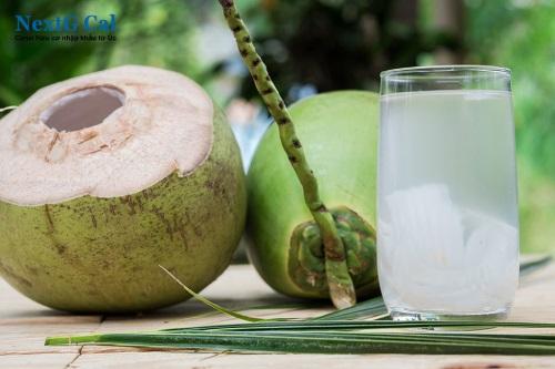 Uống nước dừa khi mang bầu