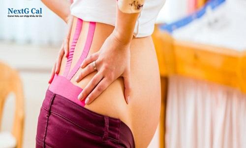 Mẹ bầu đau lưng có được dán cao không