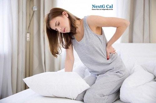 Sau sinh bị đau xương chậu