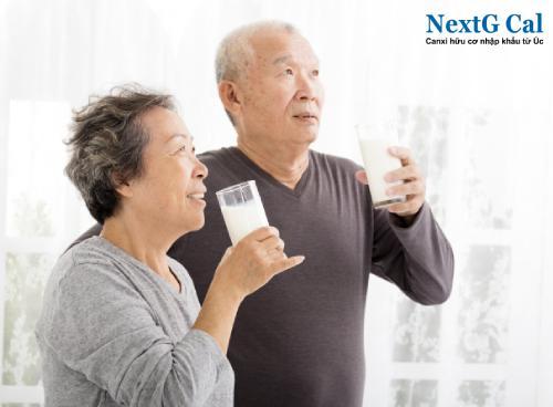 Sữa bổ sung canxi cho người già tốt nhất