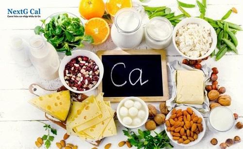 Thực phẩm bổ sung canxi cho người lớn