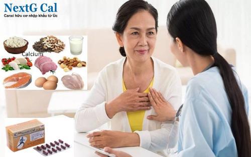Thuốc bổ sung canxi cho người già