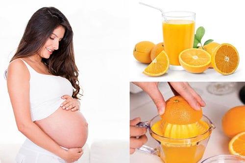 Tiểu đường thai kỳ uống nước cam được không