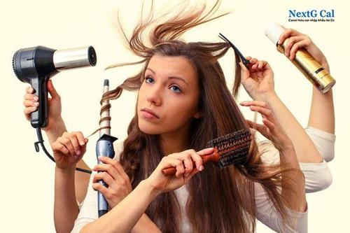 Bị rụng tóc tuổi dậy thì