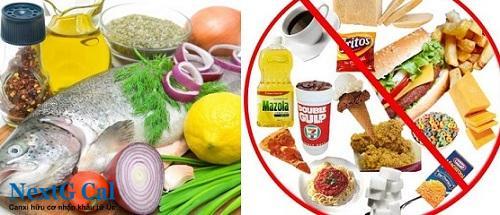 Bệnh viêm khớp cùng chậu nên ăn gì và kiêng ăn gì