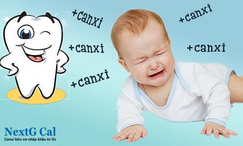 Vị sao trẻ chậm mọc răng