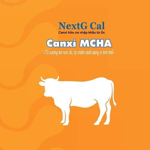 Canxi hữu cơ chứa MCHA