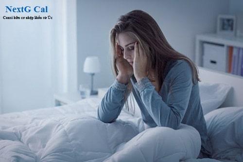 Nguyên nhân bị mất ngủ khi mang bầu