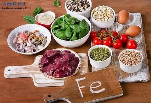 Biểu hiện thiếu sắt khi mang thai nên ăn gì