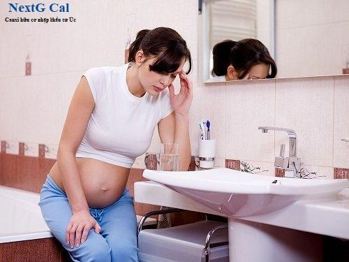 Bị huyết áp thấp khi mang thai