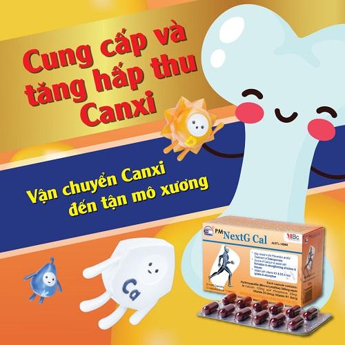 Dùng thuốc canxi cho người gãy xương