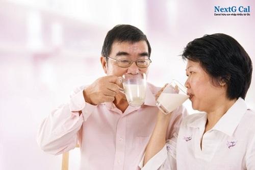 Sữa canxi cho người tiểu đường