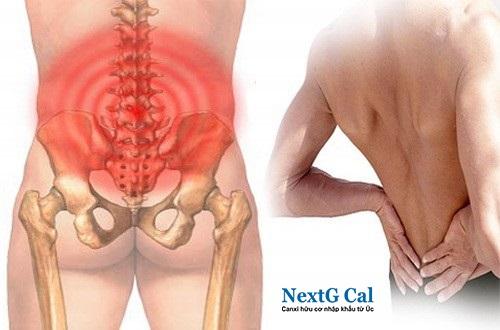 triệu chứng gãy xương cụt
