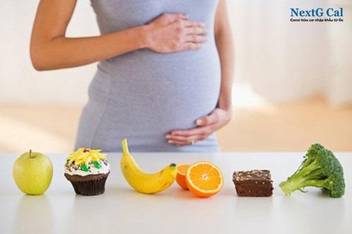 Chế độ dinh dưỡng 3 tháng đầu thai kỳ