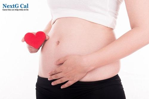 Tháp dinh dưỡng cho bà bầu 3 tháng đầu