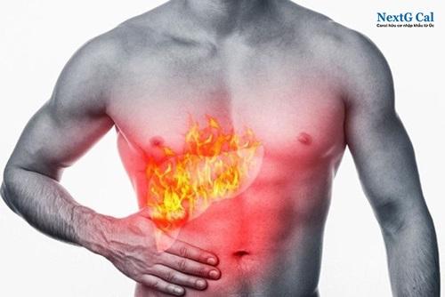 Uống canxi bị nóng trong người